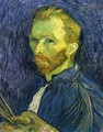 Self Portrait with Pallette - Vincent Van Gogh