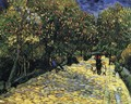 Avenue with Flowering Chestnut Trees - Vincent Van Gogh