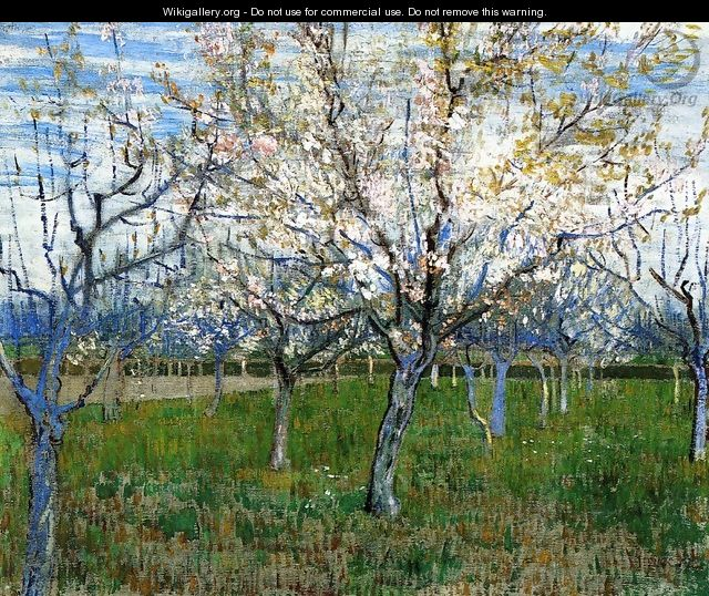 The Pink Orchard - Vincent Van Gogh