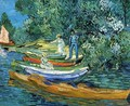 Rowing Boats on the Banks of the Oise - Vincent Van Gogh