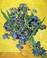 Still Life with Irises - Vincent Van Gogh