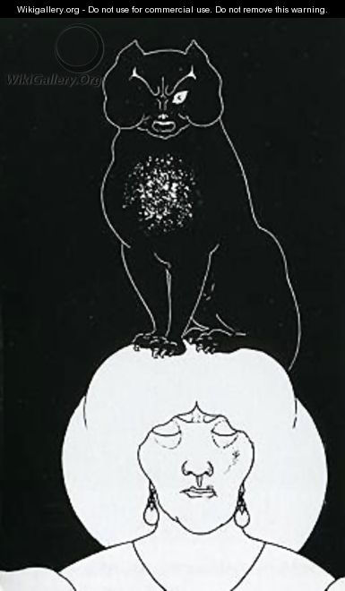 The Black Cat - Aubrey Vincent Beardsley