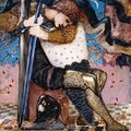 Arthur with Excalibur - Sir Edward Coley Burne-Jones