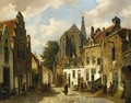 A Street Scene in Holland - Willem Koekkoek