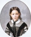 Louise-Laure Baudot at Nine Years - Jean-Baptiste-Camille Corot