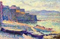 The Fishing Port at Saint-Tropez - Maximilien Luce