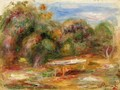 In the Garden at Collettes in Cagnes - Pierre Auguste Renoir
