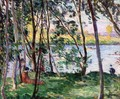 Rest on the Banks of the Yaudet - Henri Lebasque