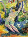 Young Woman - Henri Edmond Cross