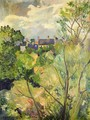 View from My Window in Genets (Brittany) - Suzanne Valadon