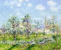 Flowering Orchard, Spring - Gustave Loiseau
