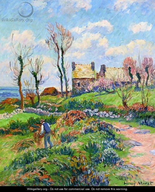 Near Audierne - Henri Moret