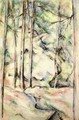 In the Woods IV - Paul Cezanne
