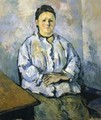 Seated Woman II - Paul Cezanne