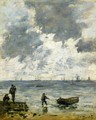 Le Havre, The Sea at Sunset - Eugène Boudin