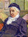 Portrait of Madame Monnon - Theo van Rysselberghe