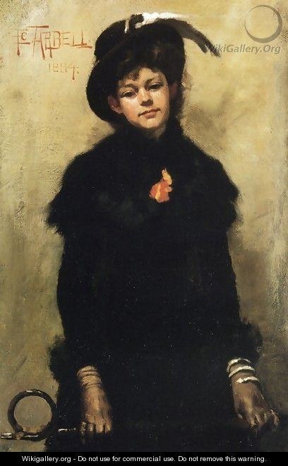 Portrait of Miss McKay - Edmund Charles Tarbell