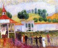 North Beach Swimming Pool - William Glackens