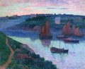 Fishing Boats in Brittany - Henri Moret