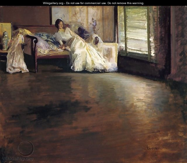 Across the Room - Edmund Charles Tarbell
