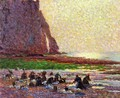 Laundresses by the Sea at Etretat - Claude Emile Schuffenecker