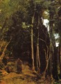 Forest in Fontainbleau - Jean-Baptiste-Camille Corot