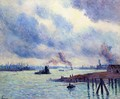 The Port of Rotterdam - Maximilien Luce
