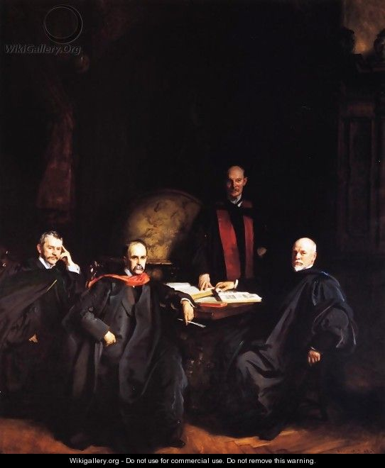 Professors Welch, Halsted, Osler and Kelly - John Singer Sargent