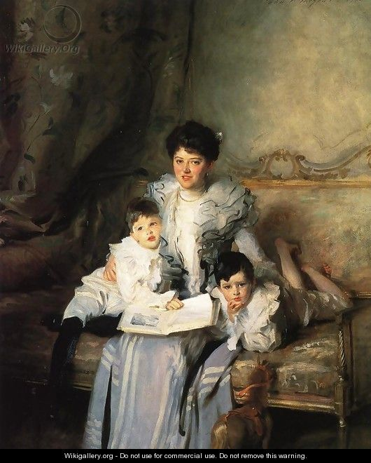 Mrs. Arthur Knowles and her Two Sons - John Singer Sargent