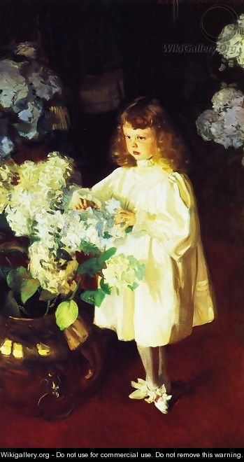 Helen Sears - John Singer Sargent - WikiGallery.org, The ...