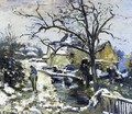 Winter at Montfoucault I - Camille Pissarro