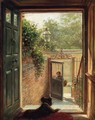 A Philadelphia Doorway - Edward Lamson Henry