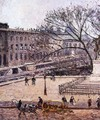 The Treasury and the Academy, Gray Weather - Camille Pissarro