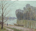 Banks of the Loing, Winter - Alfred Sisley
