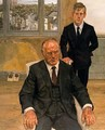 Two Irishmen - Lucian Freud