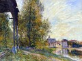 Near Moret-sur-Loing - Alfred Sisley