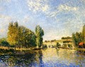 The Loing at Moret I - Alfred Sisley