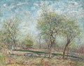 Apple Trees in Bloom - Alfred Sisley