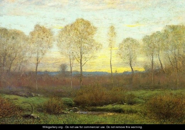 Dawn - Early Spring - Dwight William Tryon