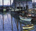 Rockport at Sunrise - Charles Salis Kaelin