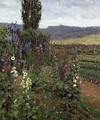 Hollyhock Path - Ben Foster