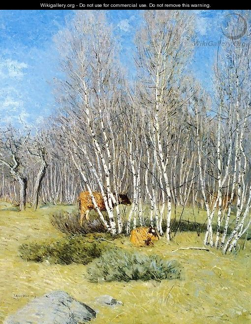 The Birches - Julian Alden Weir