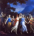 The Dance of the Muses - Joseph Paelinck