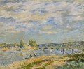 Bridge at Serves - Alfred Sisley