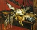 Still Life with Hare and Partridges - Lovis (Franz Heinrich Louis) Corinth