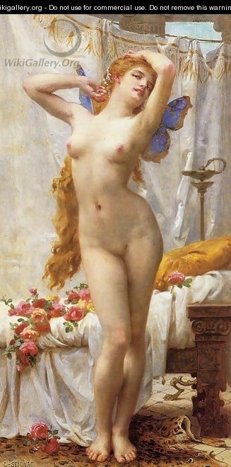 The Awakening of Psyche I - Guillaume Seignac