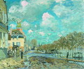 Flood at Port-Marly V - Alfred Sisley