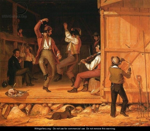 Dance of the Haymakers - William Sidney Mount