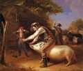 Ringing the Pig - William Sidney Mount