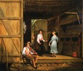 Dancing on the Barn Floor - William Sidney Mount
